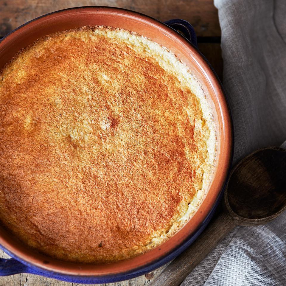 Savory Corn Pudding Lia Huber