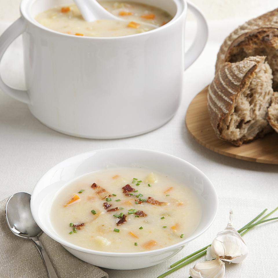 Old-Fashioned Winter Vegetable Chowder John Ash