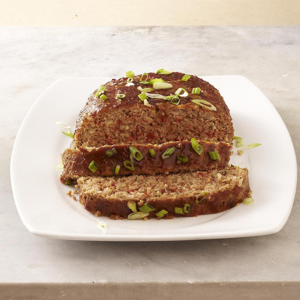 Hoisin-Ginger Meatloaf EatingWell Test Kitchen