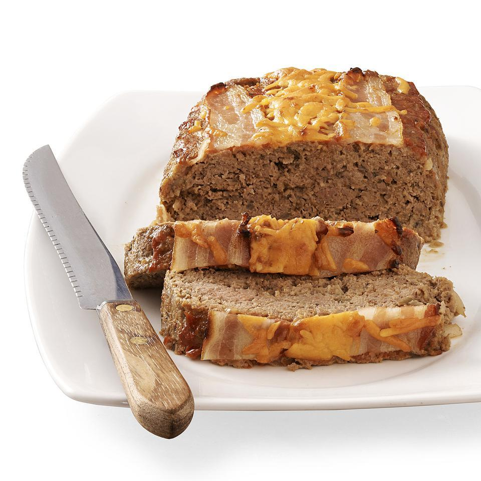 Bacon Cheeseburger Meatloaf EatingWell Test Kitchen