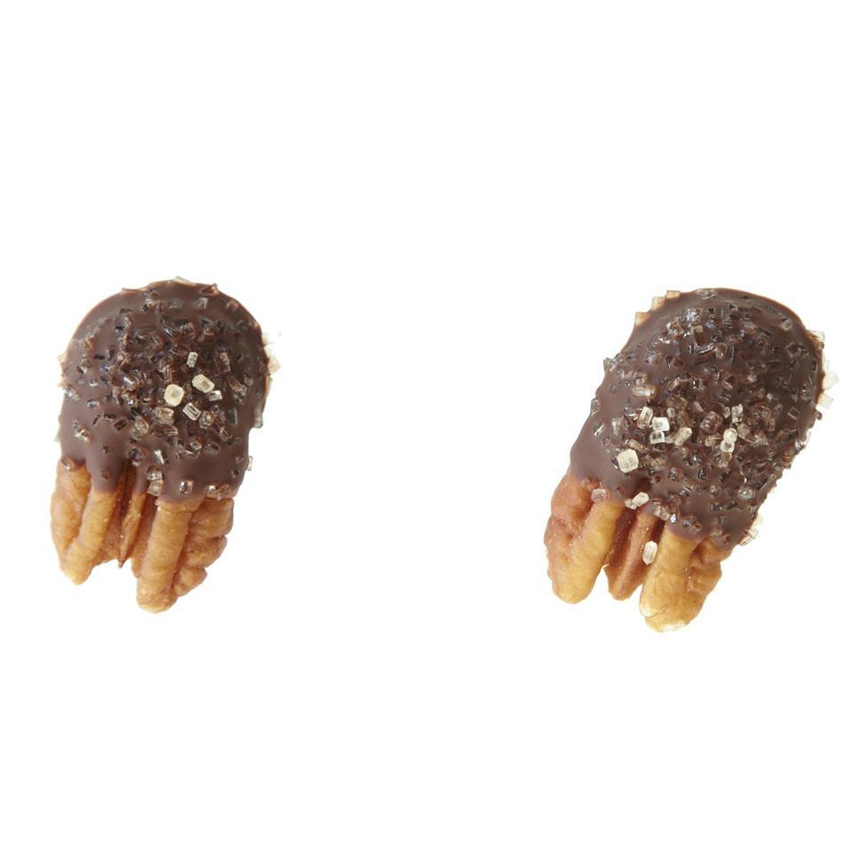 Chocolate-Dipped Pecans EatingWell Test Kitchen