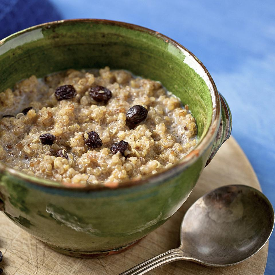 Spiced Breakfast Quinoa EatingWell Test Kitchen