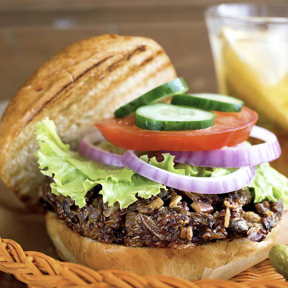 Quinoa Veggie Burger EatingWell Test Kitchen