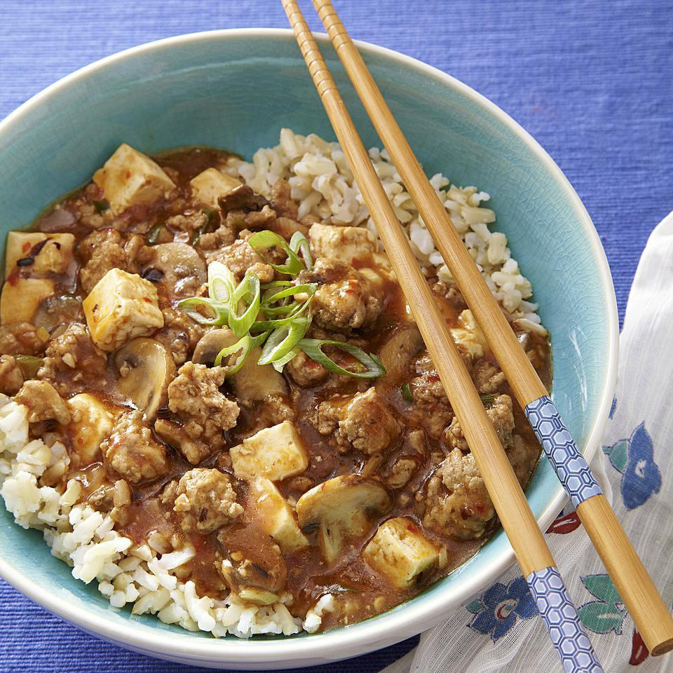 Turkey Ma Po Tofu