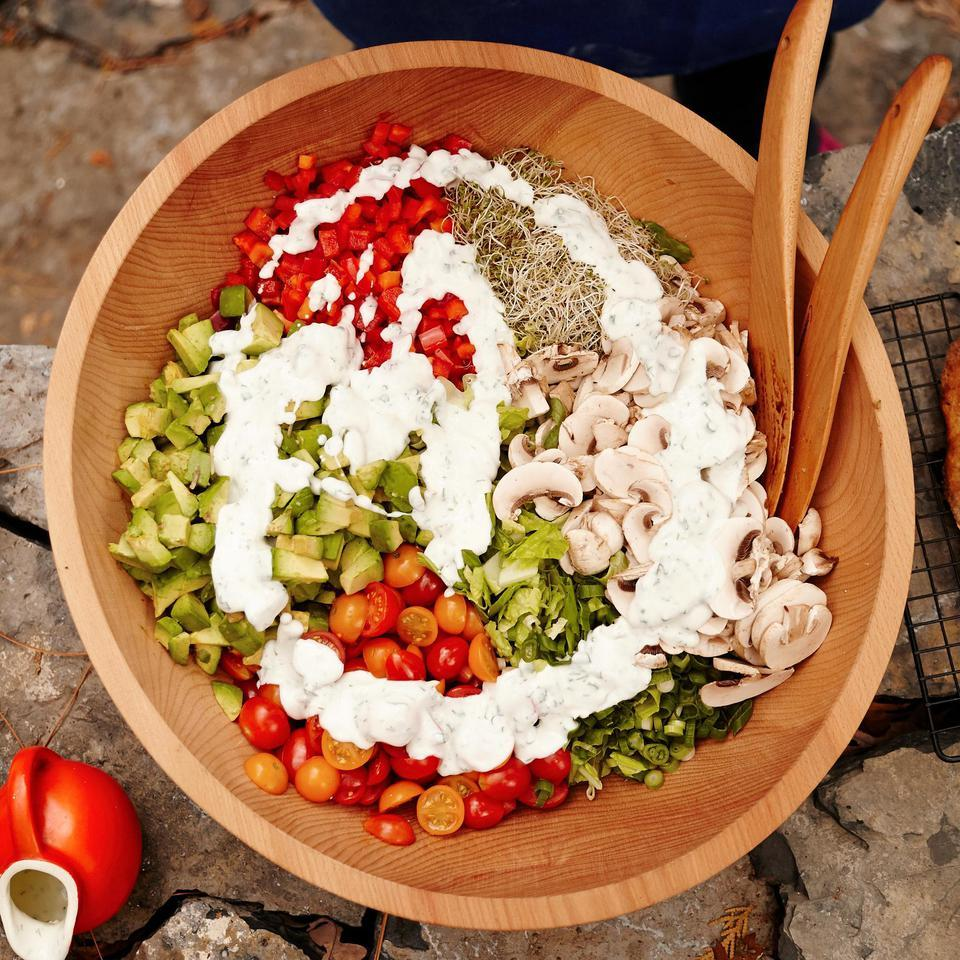 Loaded Garden Salad Hilary Meyer