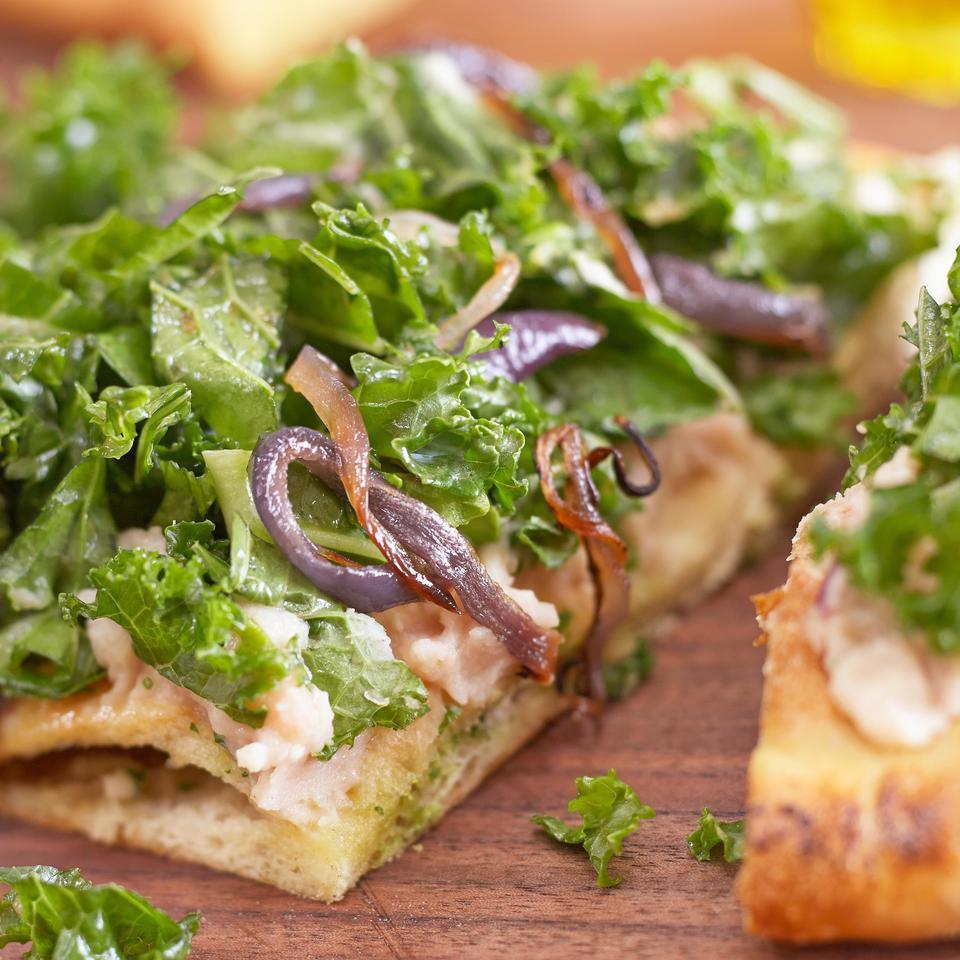 Raw Kale Salad with Roasted Garlic Dressing Hilary Meyer