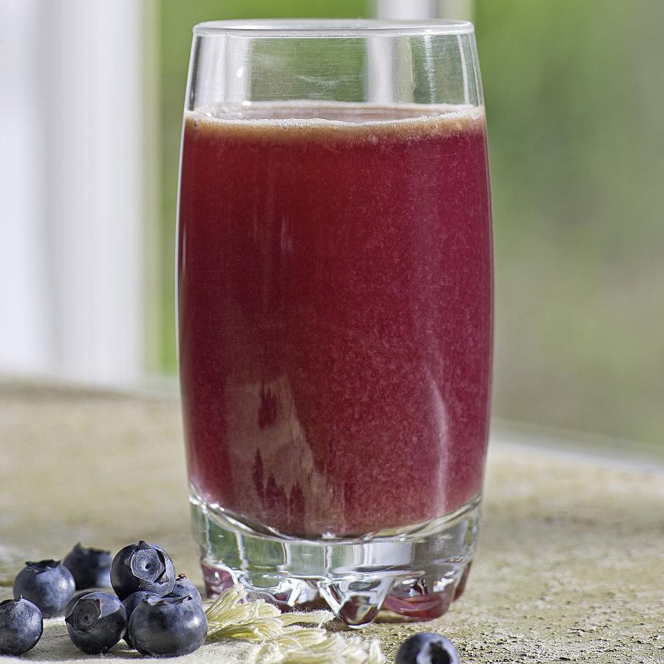 Blueberry-Cabbage Power Juice EatingWell Test Kitchen