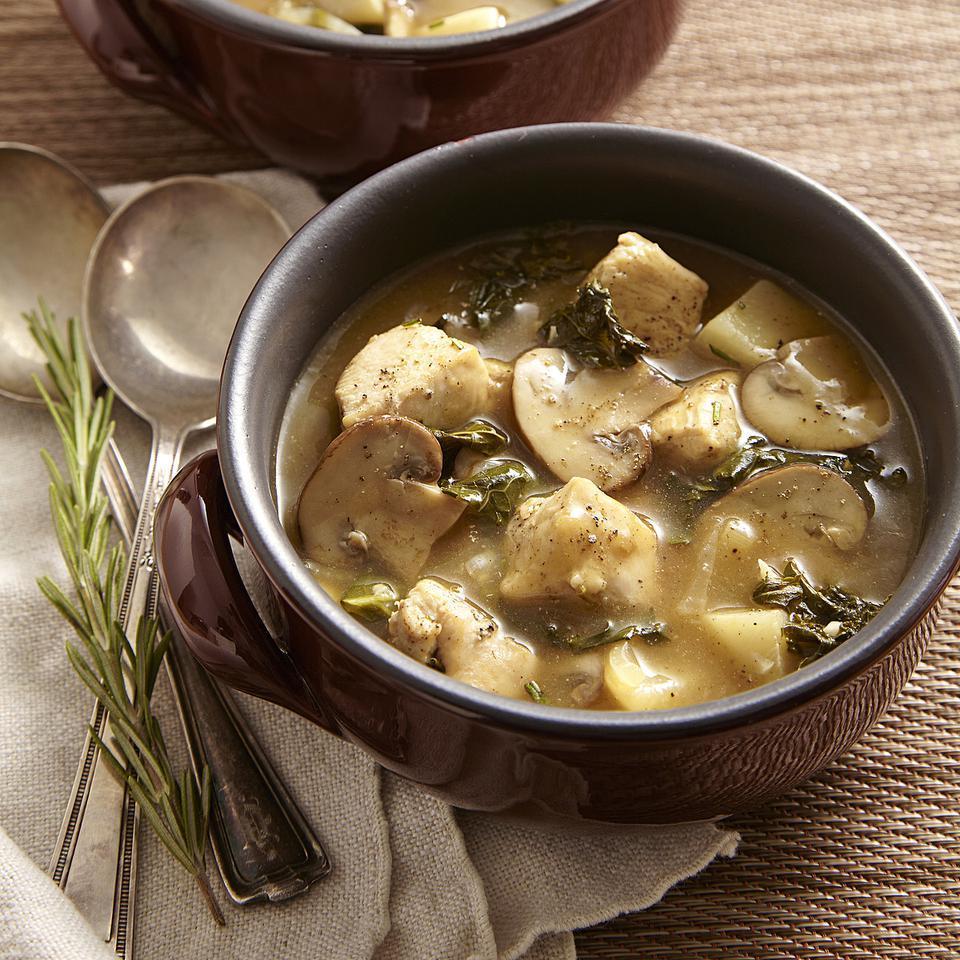 Chicken Stew with Turnips & Mushrooms Breana Killeen