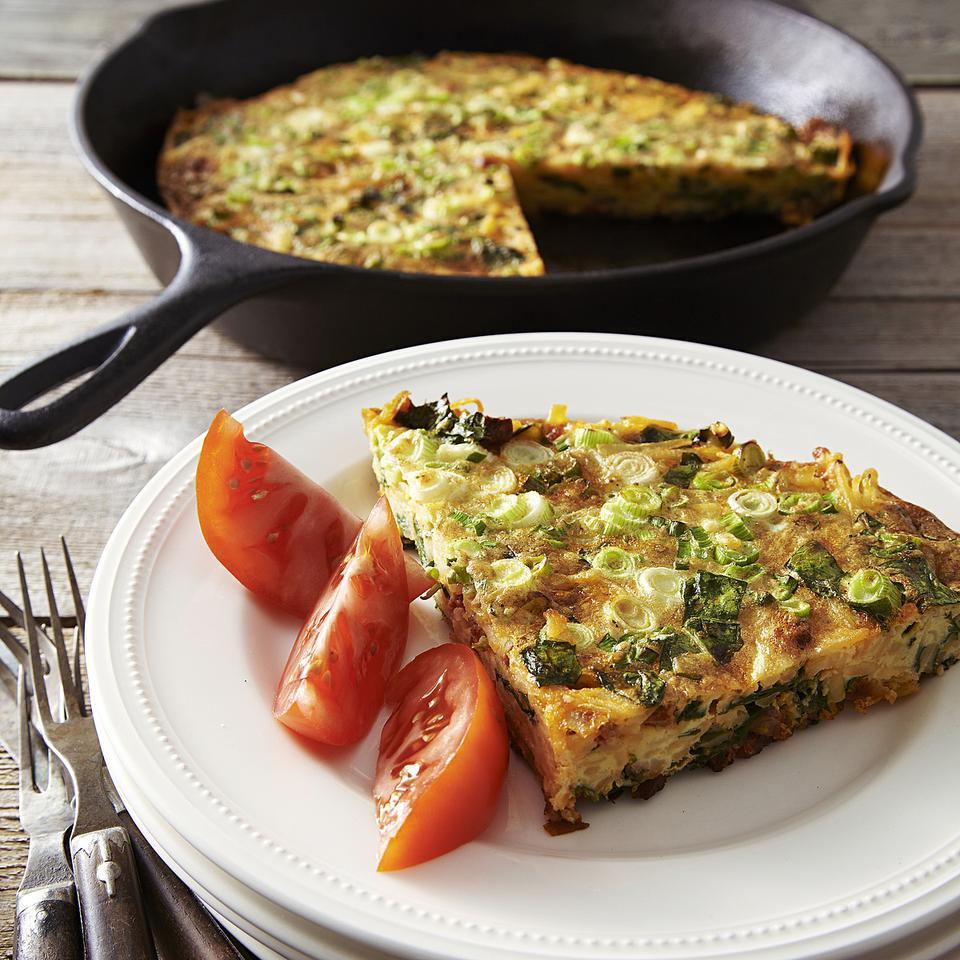 Chard & Chorizo Frittata EatingWell Test Kitchen