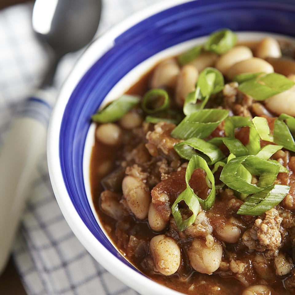 Lamb & White Bean Chili EatingWell Test Kitchen