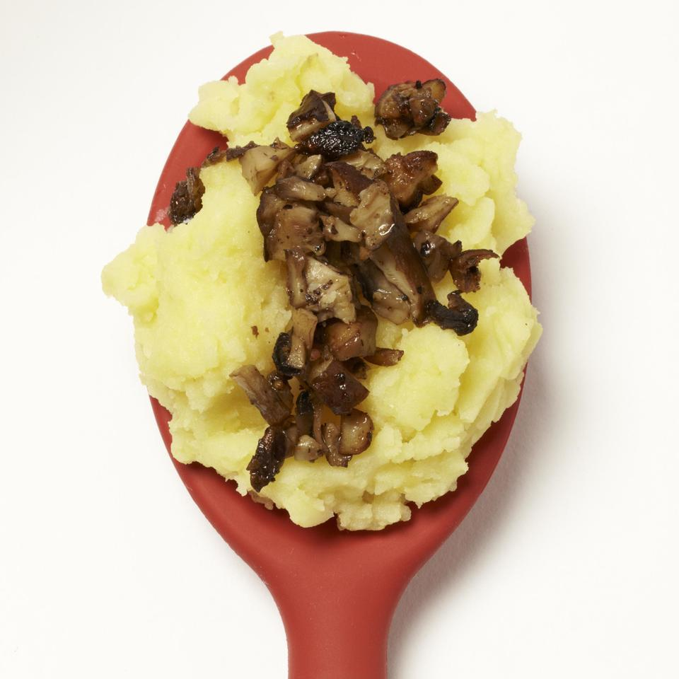 Roasted Mushroom Mashed Potatoes EatingWell Test Kitchen