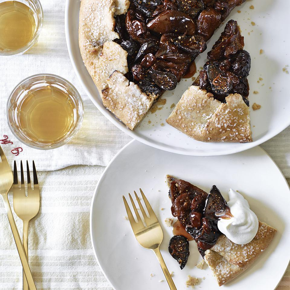 Fig & Cherry Galette Anna Thomas