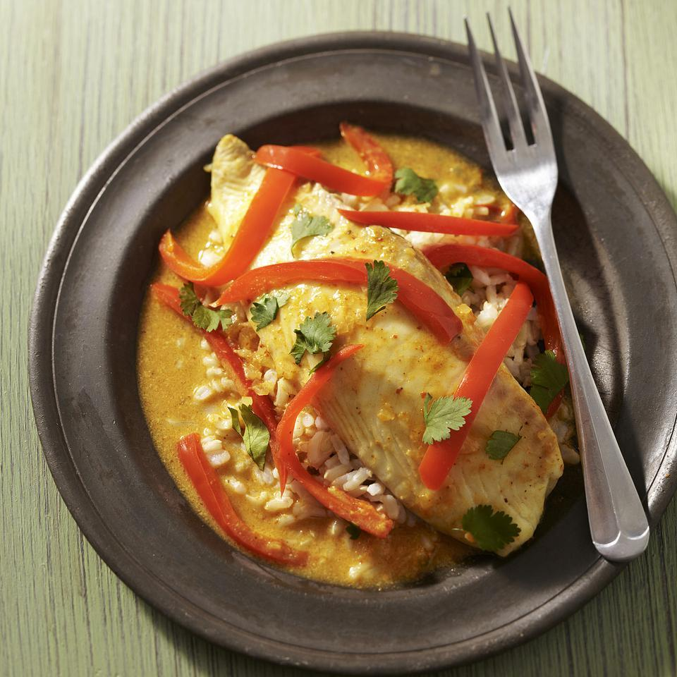 Baked Tilapia Curry EatingWell Test Kitchen