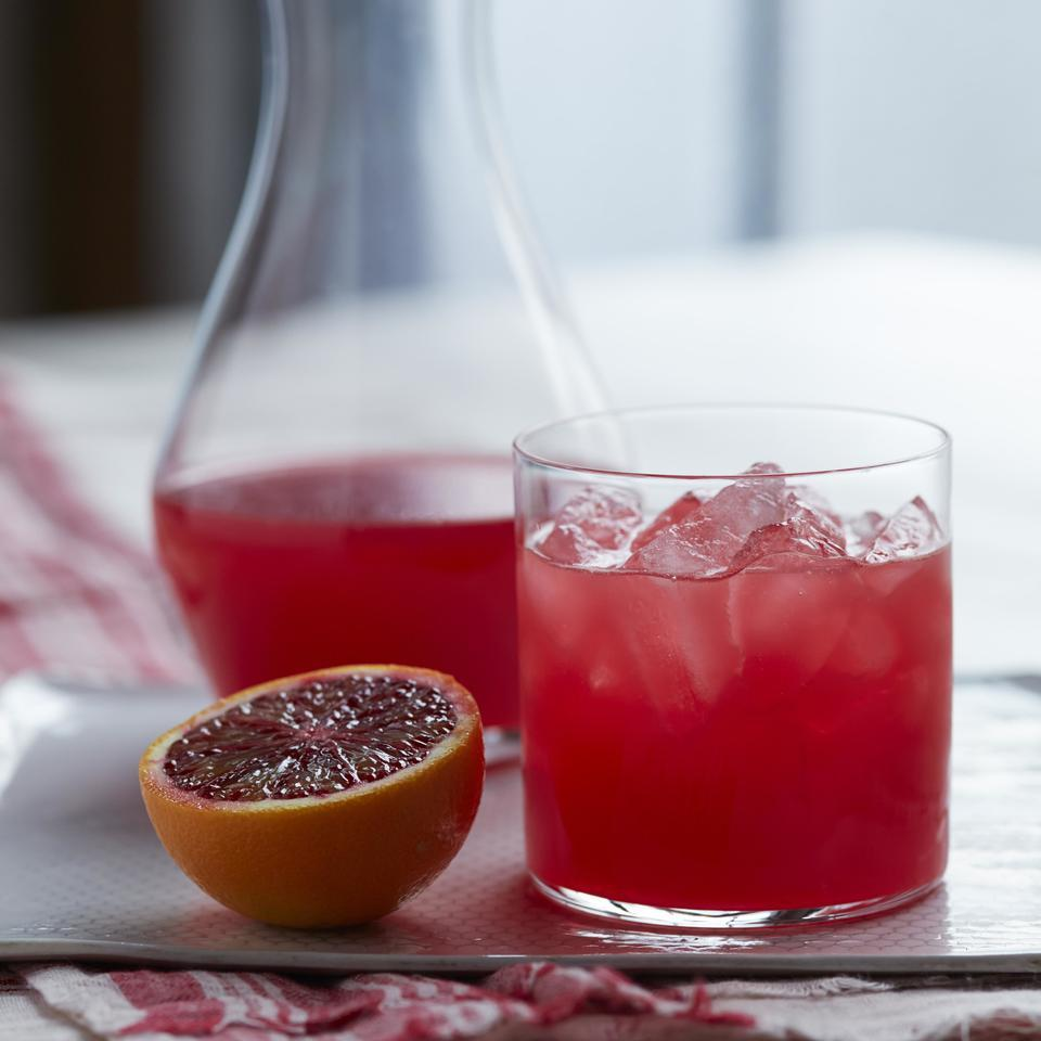 Refreshingly tangy, this shrub drink recipe combines fruits, vinegar and sparkling water. This cocktail recipe from Healdsburg SHED mixologist Jordan Lancer in California takes advantage of in-season blood oranges for a brilliantly colorful drink.