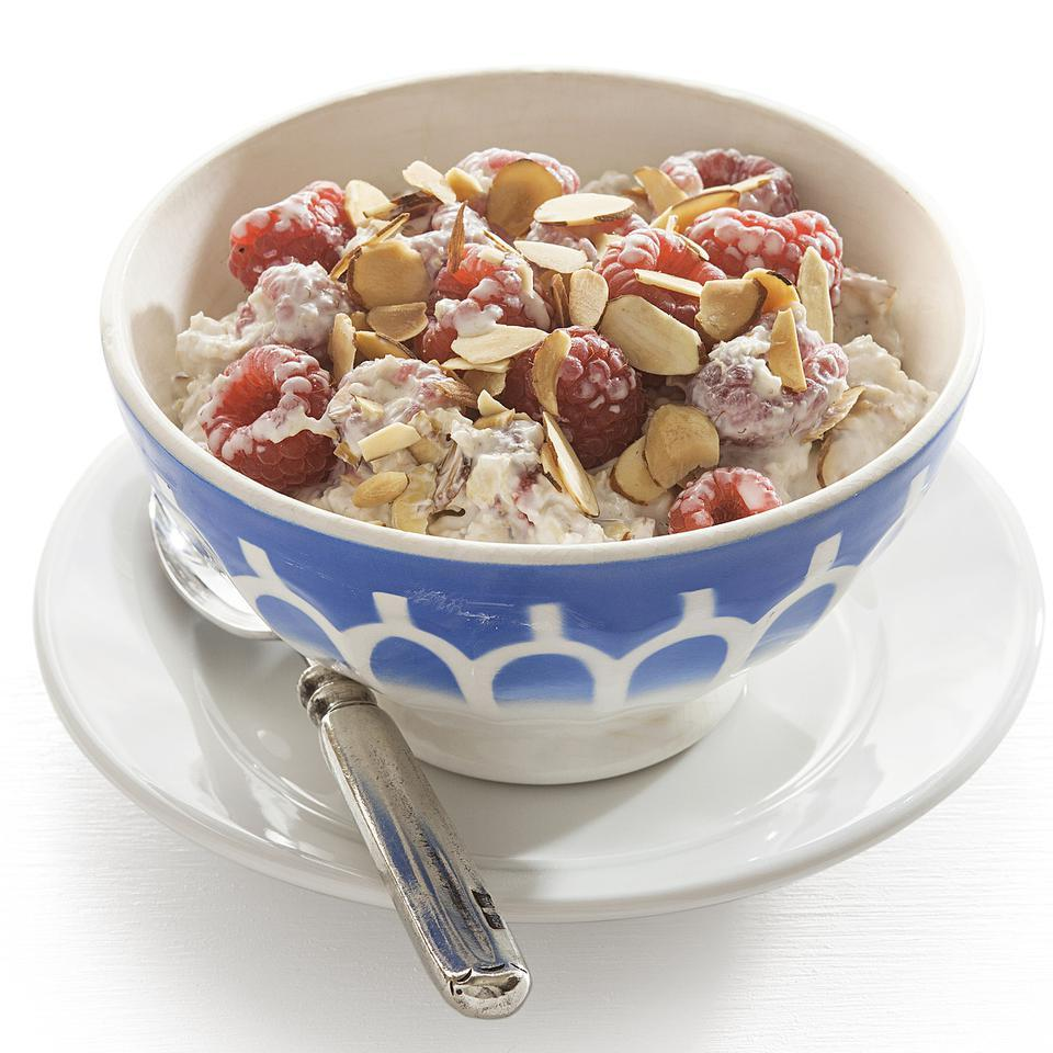 Raspberry Overnight Muesli EatingWell Test Kitchen