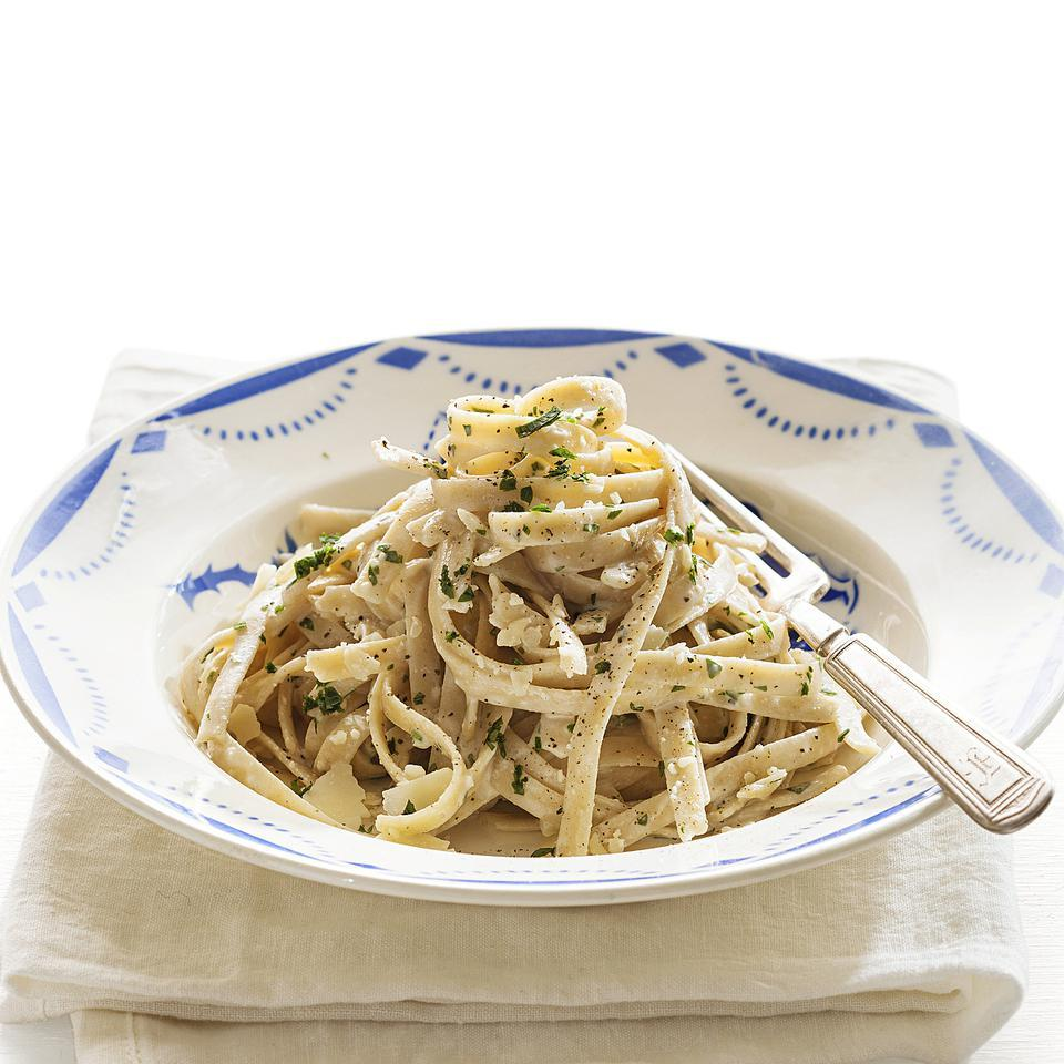 Quick Fettuccine Alfredo EatingWell Test Kitchen