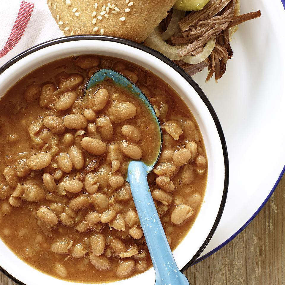 Slow-Cooker Baked Beans Carolyn Malcoun