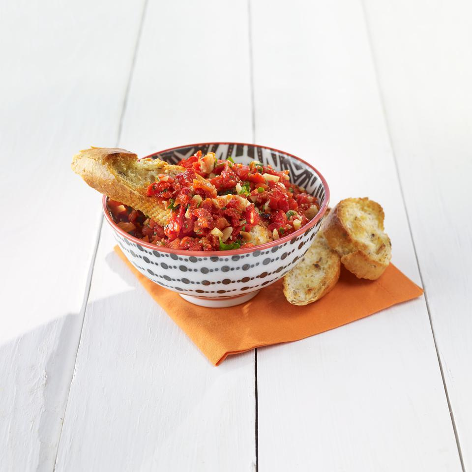 Quick Romesco Dip EatingWell Test Kitchen