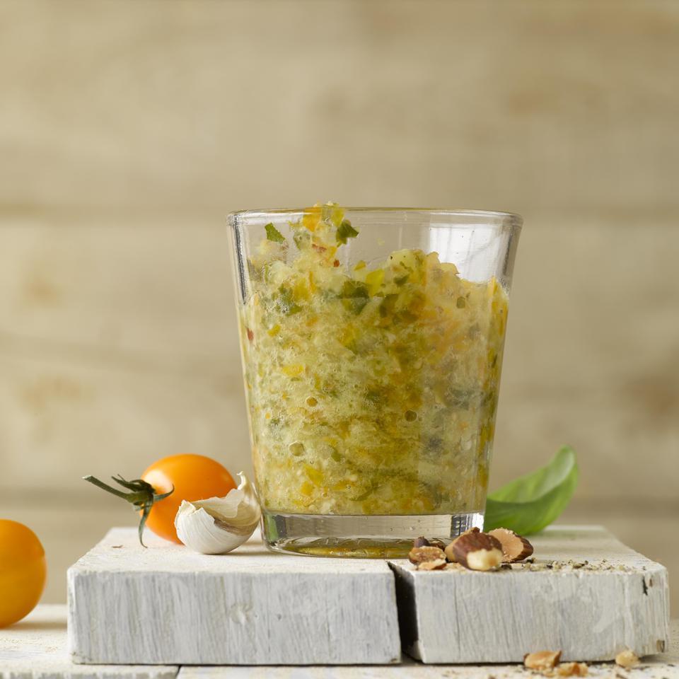 Pesto Trapanese (Tomato & Almond Pesto) Hilary Meyer
