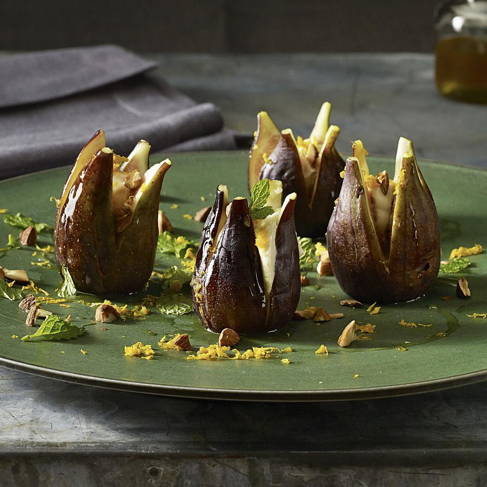 Mascarpone-Stuffed Figs Jane Black