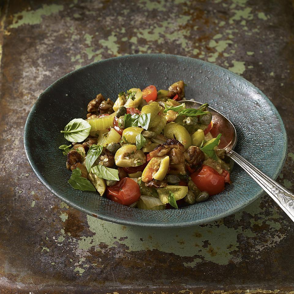 Sicilian Eggplant Caponata Nancy Harmon Jenkins