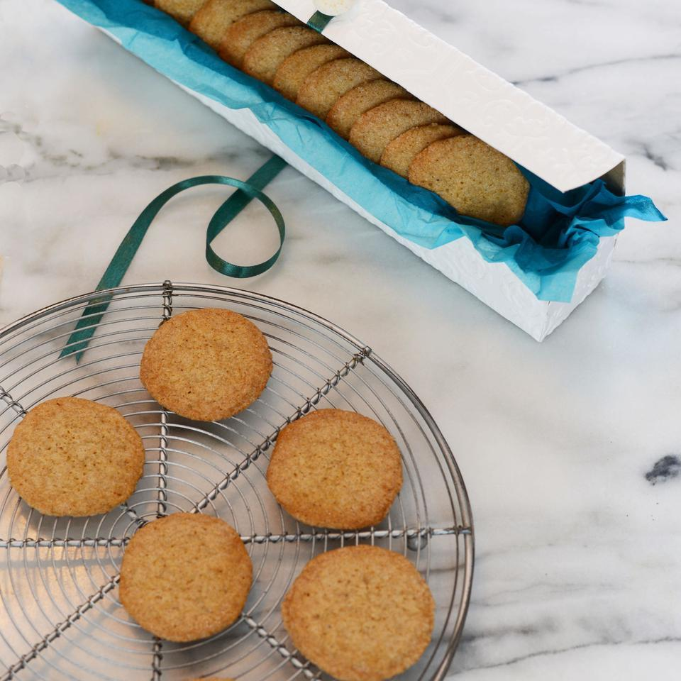 In this healthy snickerdoodle cookie recipe, ginger, allspice and nutmeg combine with cinnamon to make this the best snickerdoodle you've ever had. The cookies get their signature look and texture from a little food science--baking soda makes them rise and cream of tartar prevents the sugar from binding together and causes the cookies to collapse and wrinkle.