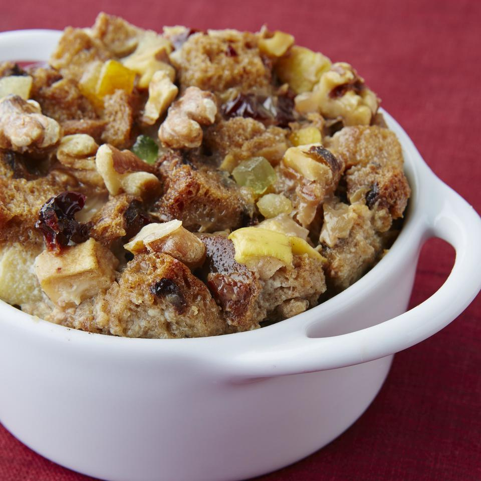 Fruitcake Bread Pudding EatingWell Test Kitchen