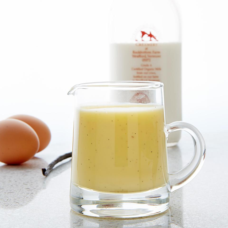Vanilla Creme Anglaise EatingWell Test Kitchen