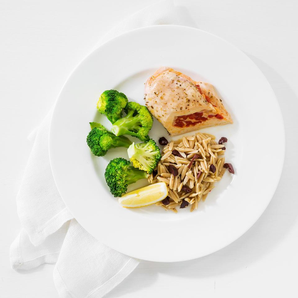 Roasted Pepper-&-Cheese Stuffed Chicken EatingWell Test Kitchen