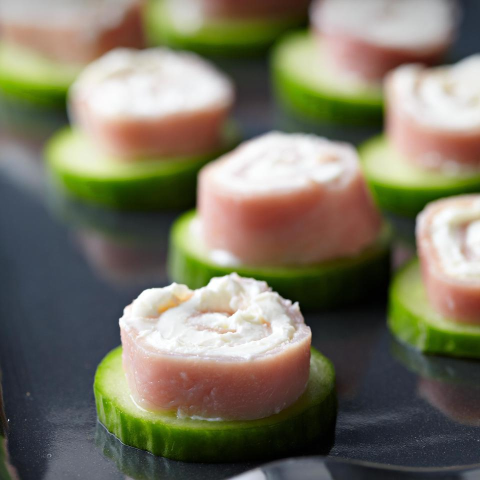 Ham Pinwheels EatingWell Test Kitchen