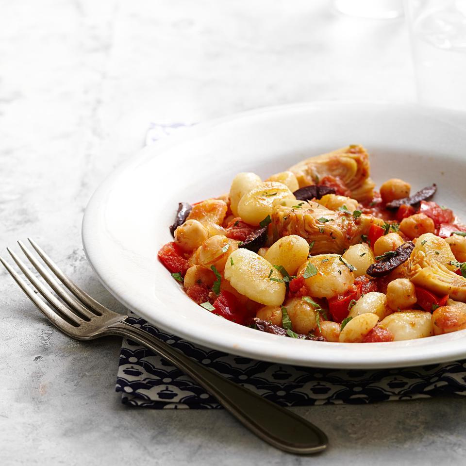 Tomato & Artichoke Gnocchi EatingWell Test Kitchen