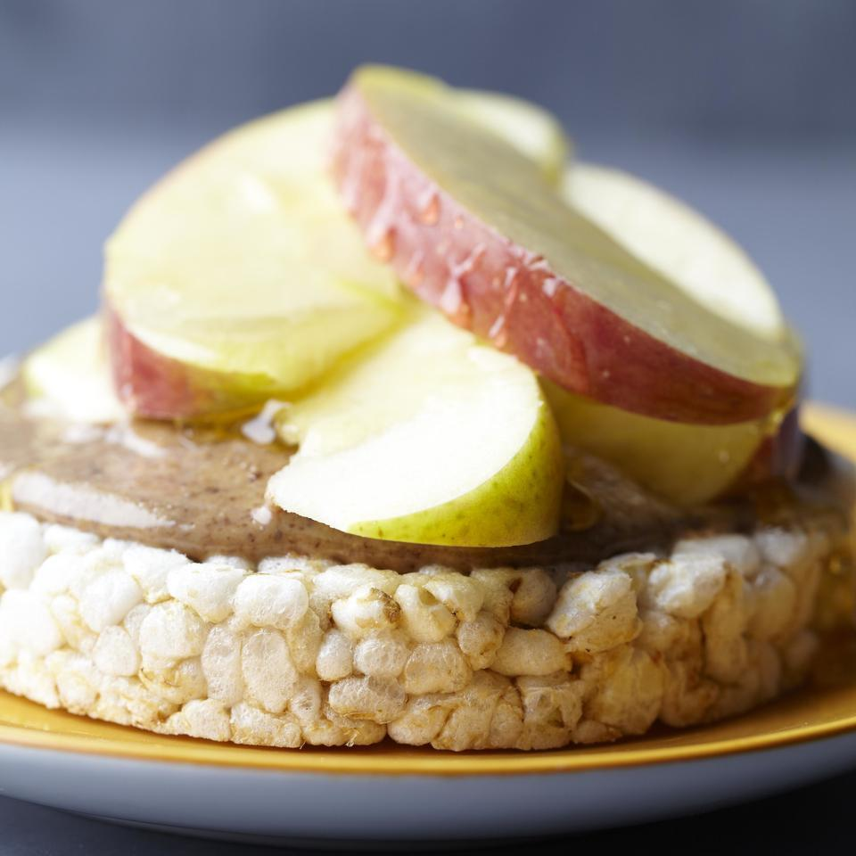 Nutty Rice Cake with Honey EatingWell Test Kitchen