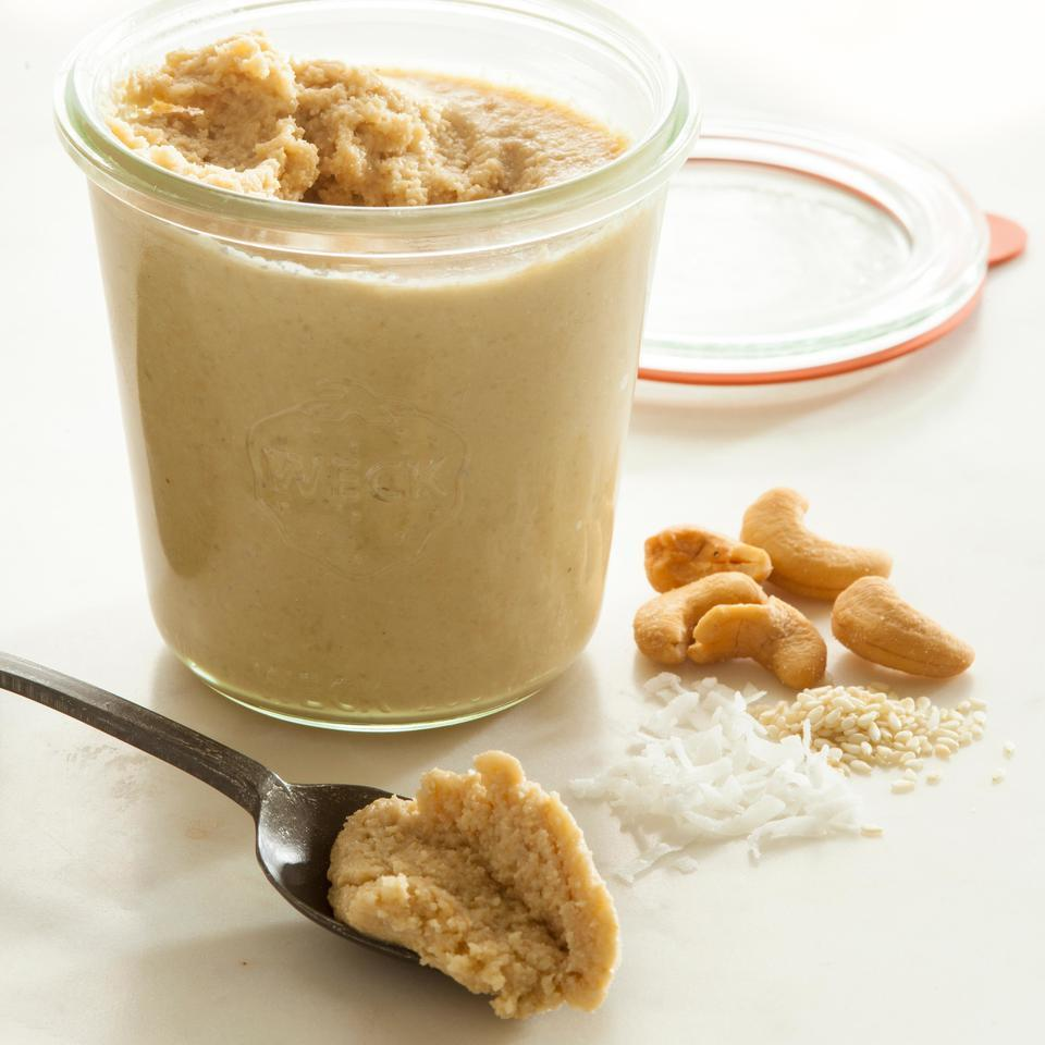 Turn your food processor into a nut-butter-making machine with this easy recipe for homemade cashew butter. Try it on toast, spread on a banana or whizzed into a smoothie.