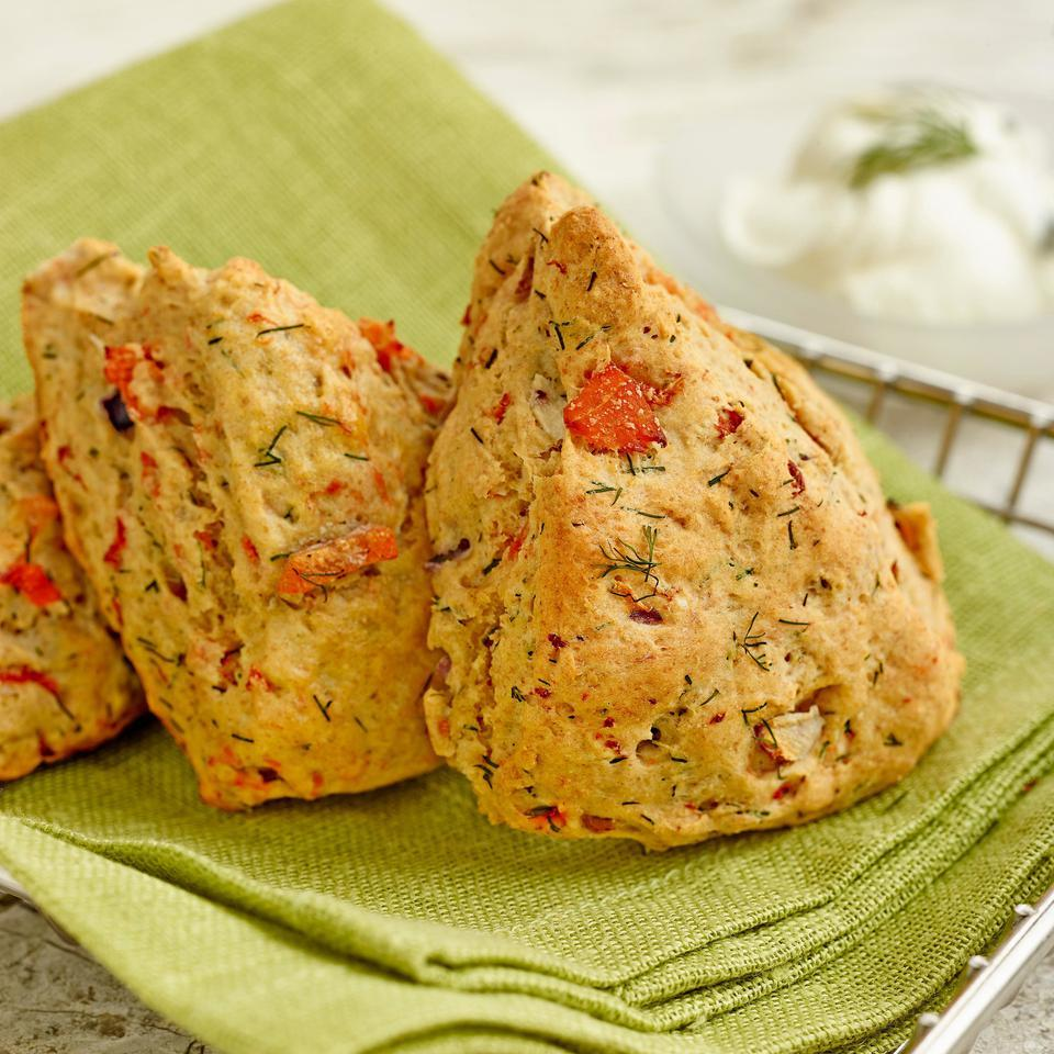 Smoked Salmon & Dill Scones