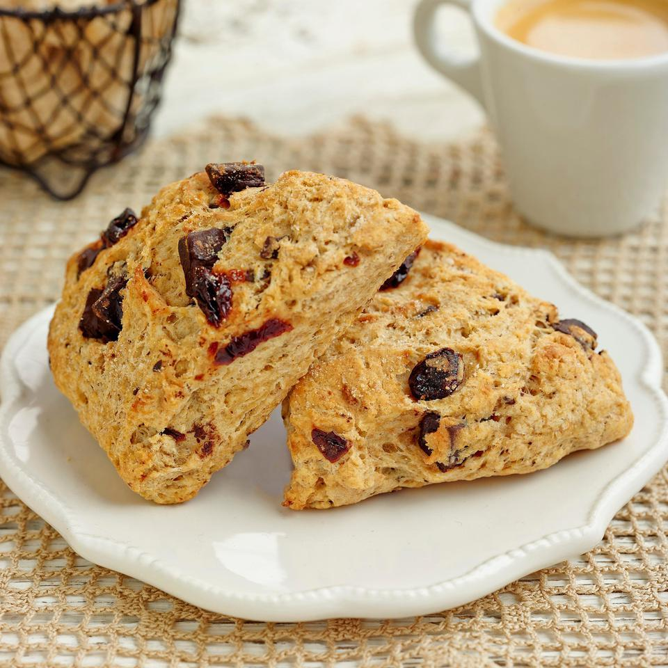 Chocolate-Cherry Scones Breana Killeen