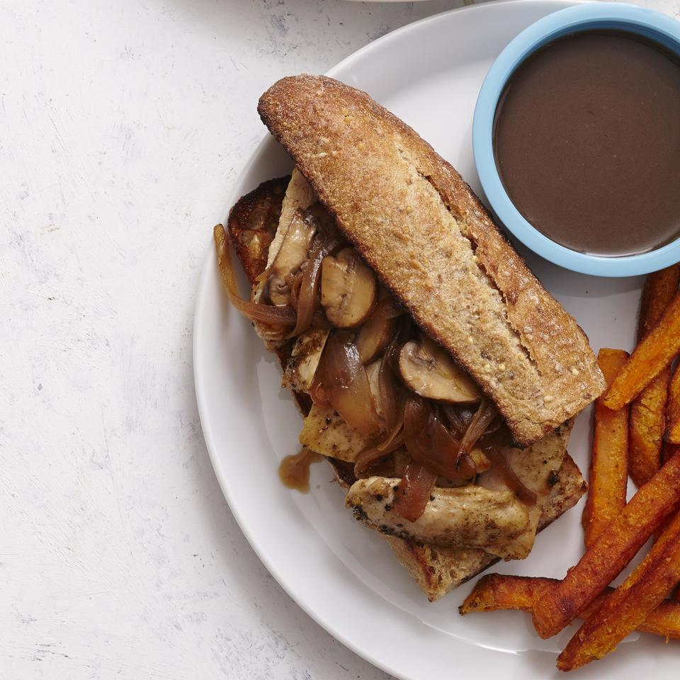 Chicken French Dip Sandwiches EatingWell Test Kitchen