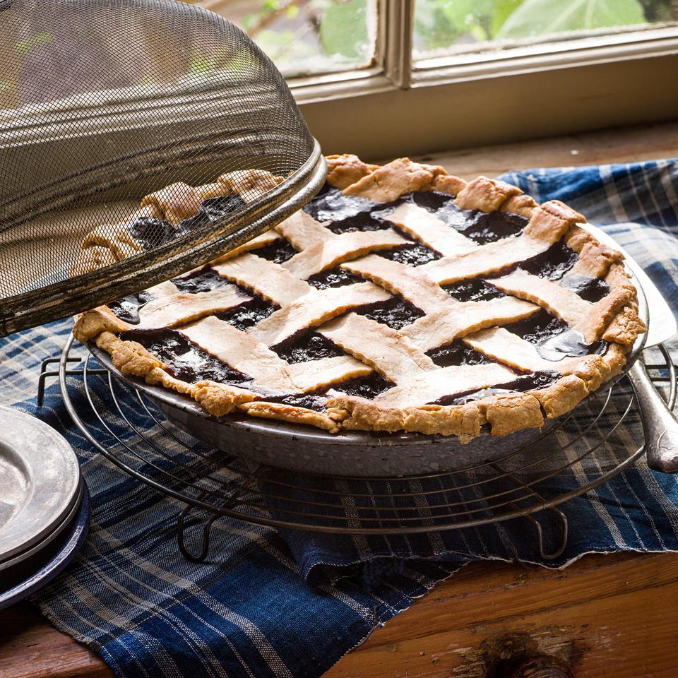 Maple Wild Blueberry Pie EatingWell Test Kitchen