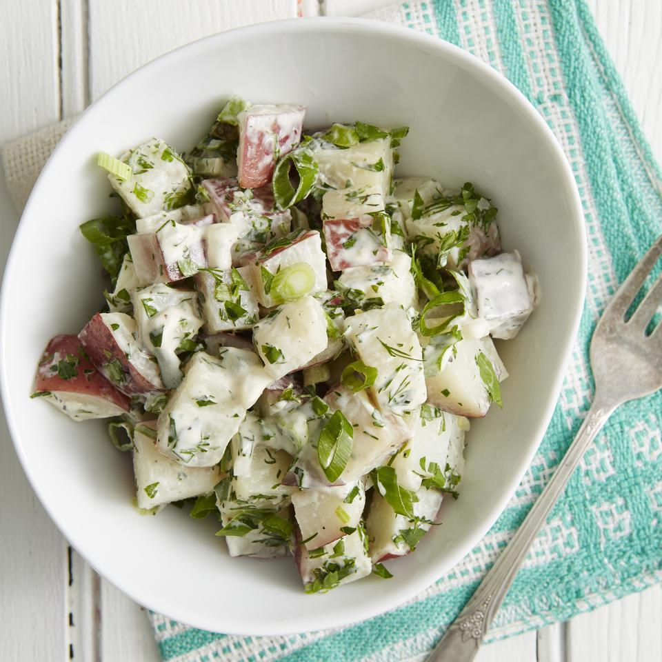Three-Herb Potato Salad EatingWell Test Kitchen