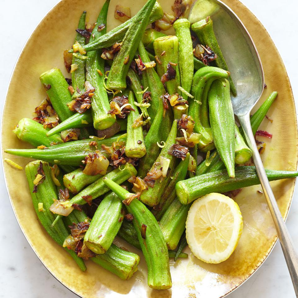 Indian-Style Sauteed Okra EatingWell Test Kitchen