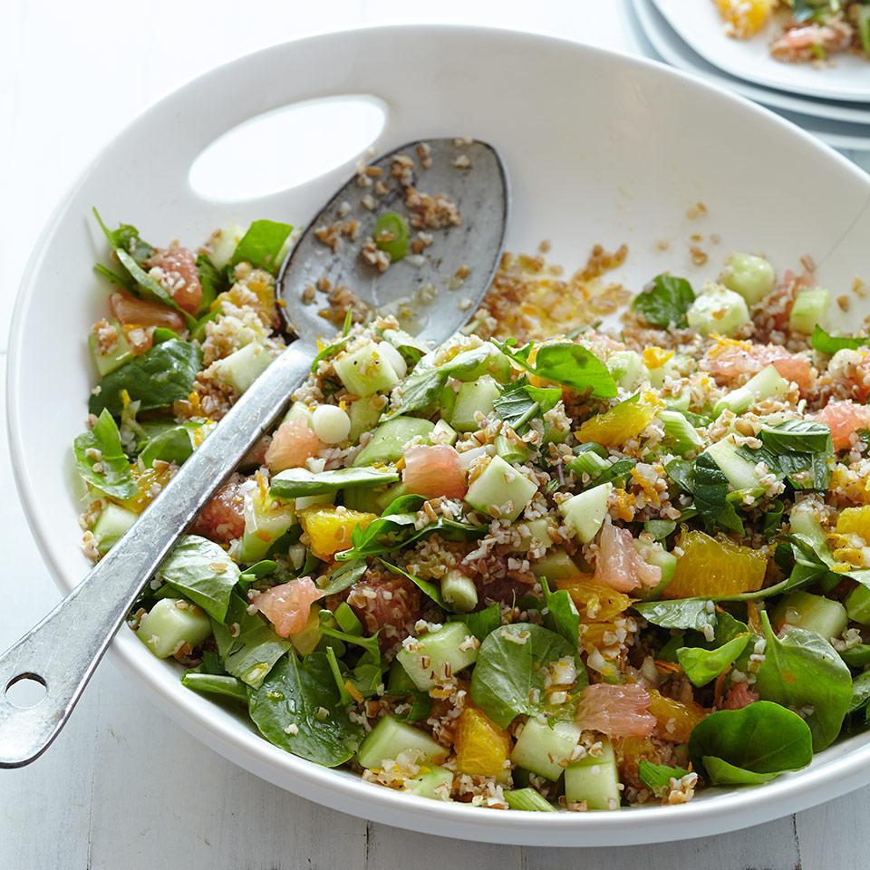 Watercress & Citrus Tabbouleh EatingWell Test Kitchen