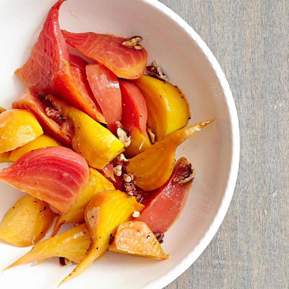Balsamic-Glazed Beets with Pecans EatingWell Test Kitchen