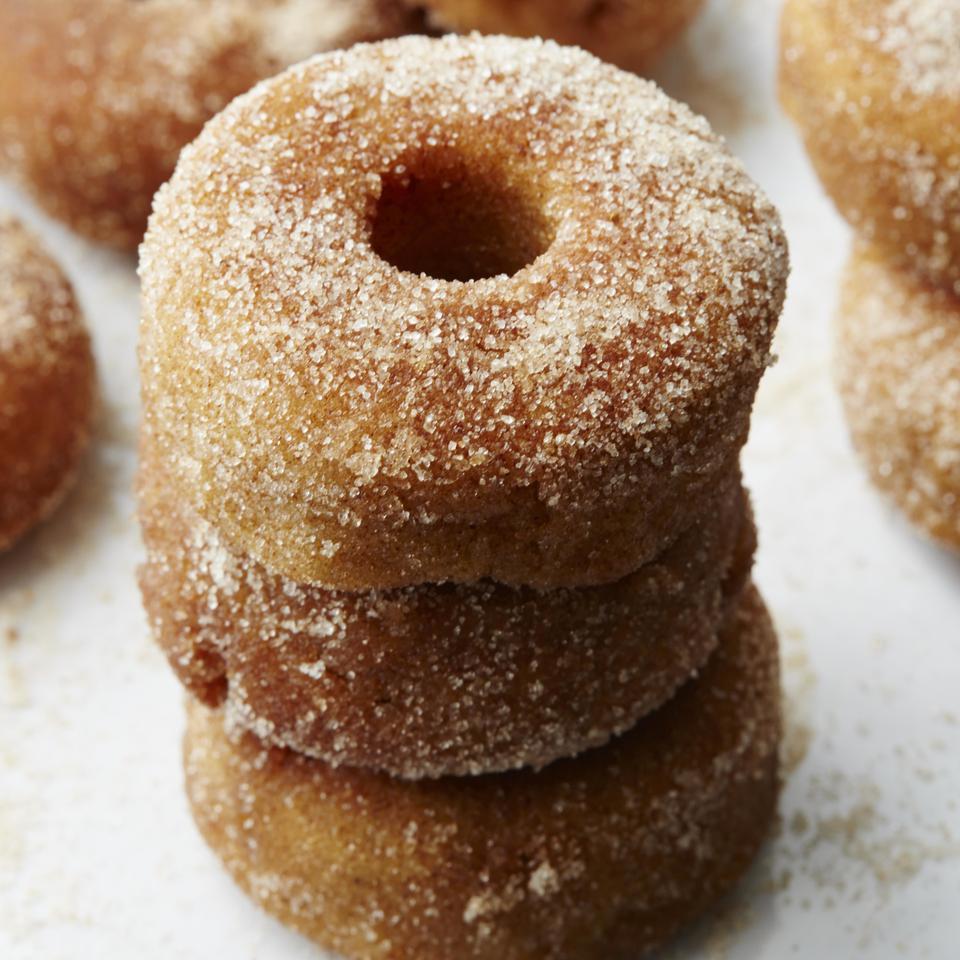 Apple-Cinnamon Mini Doughnuts Carolyn Malcoun