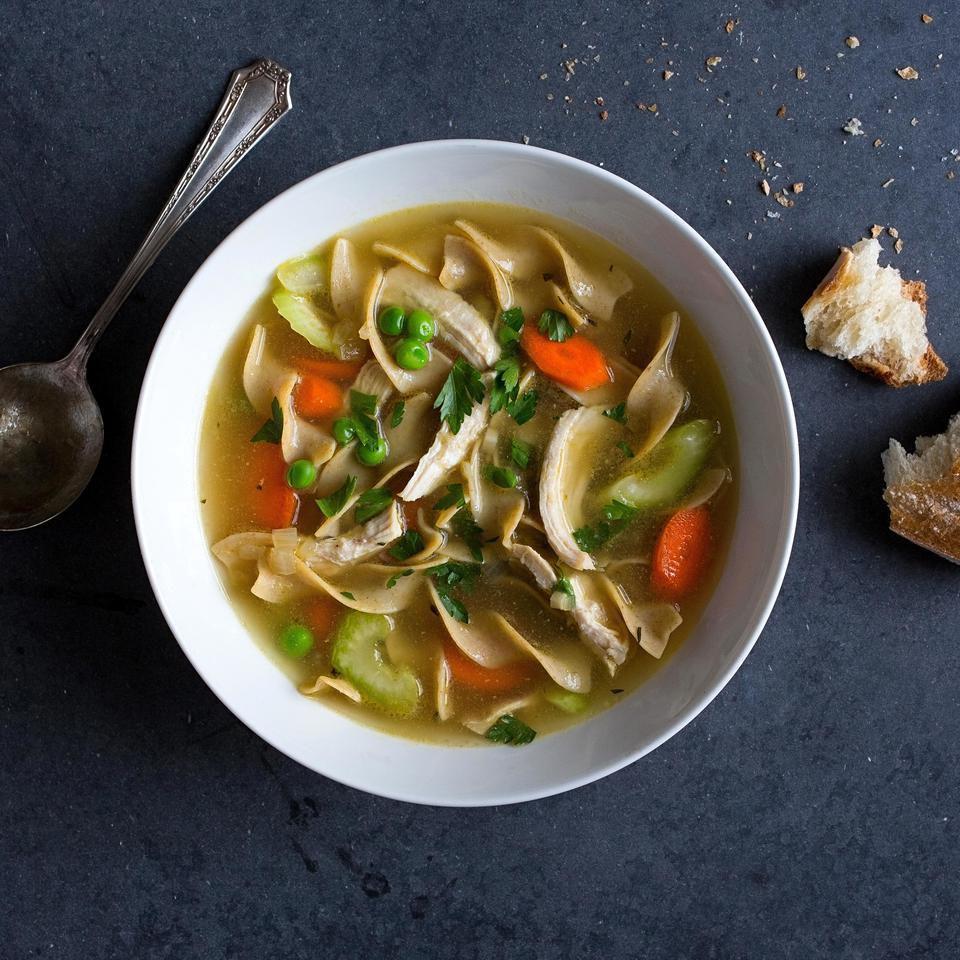 Classic Chicken Soup EatingWell Test Kitchen