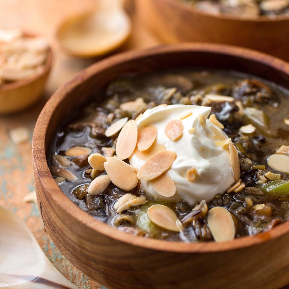 Wild Rice & Mushroom Soup Carolyn Malcoun