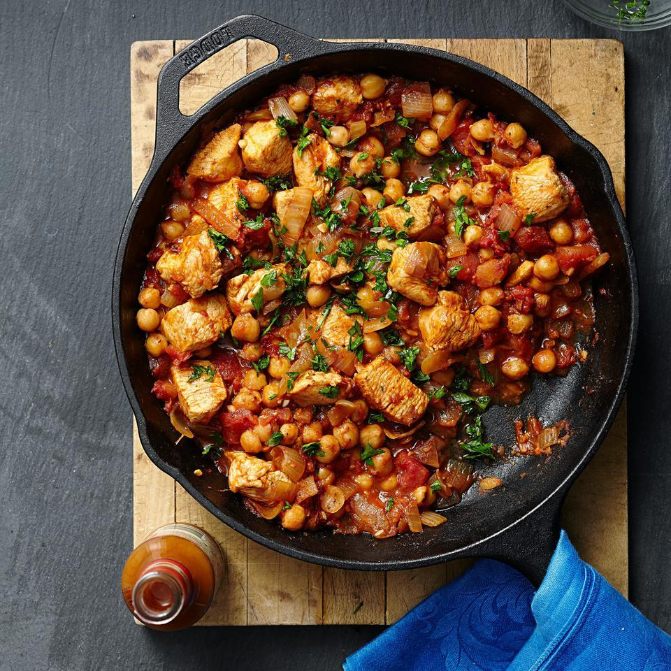 Middle Eastern Chicken & Chickpea Stew