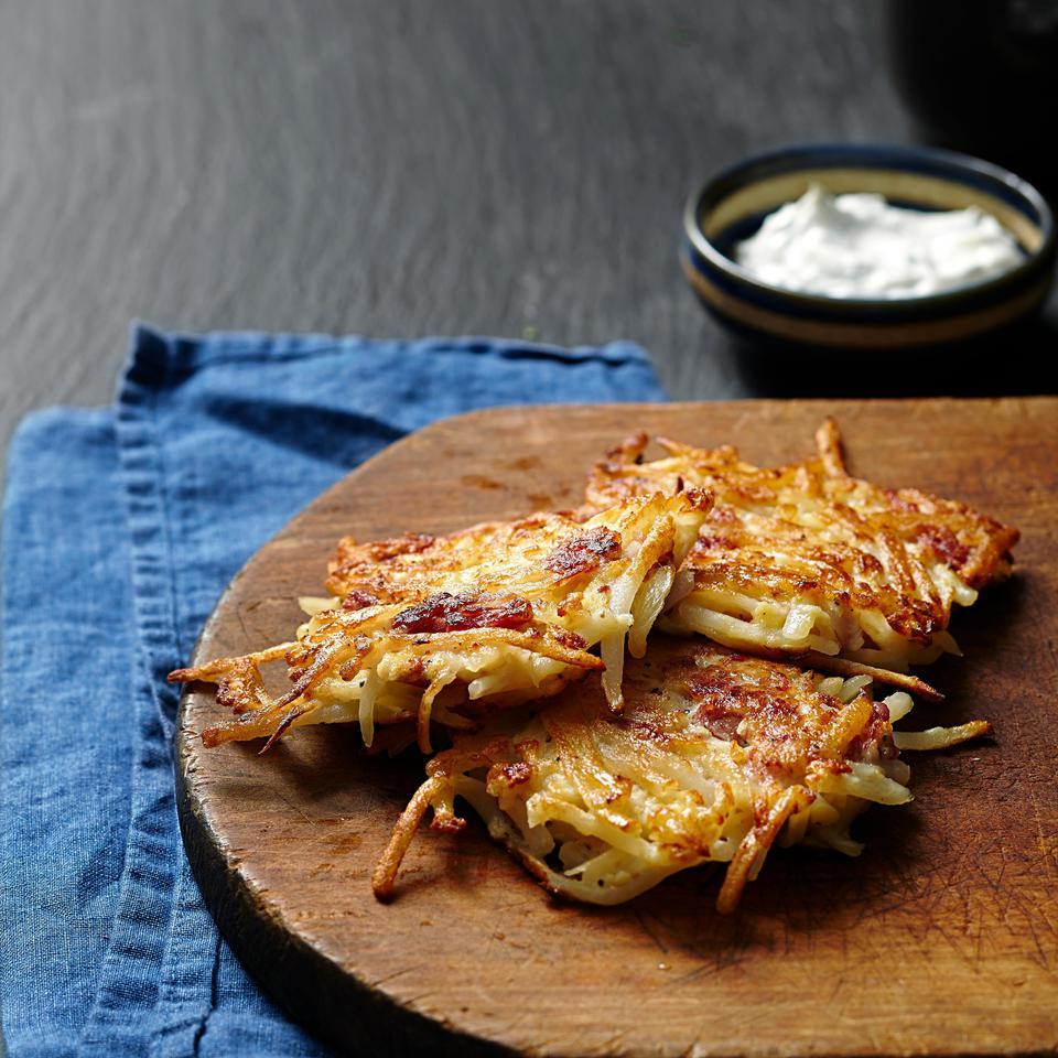 Corned Beef Latkes EatingWell Test Kitchen