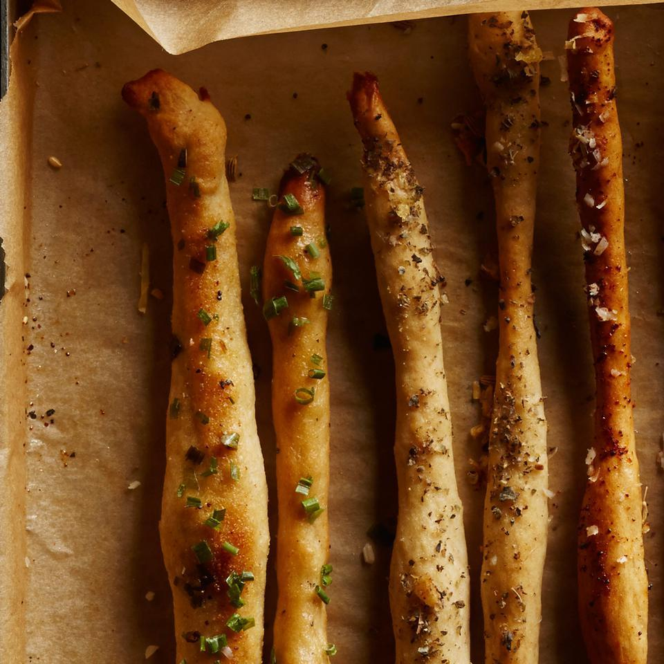 Chive & Garlic Breadsticks Breana Killeen