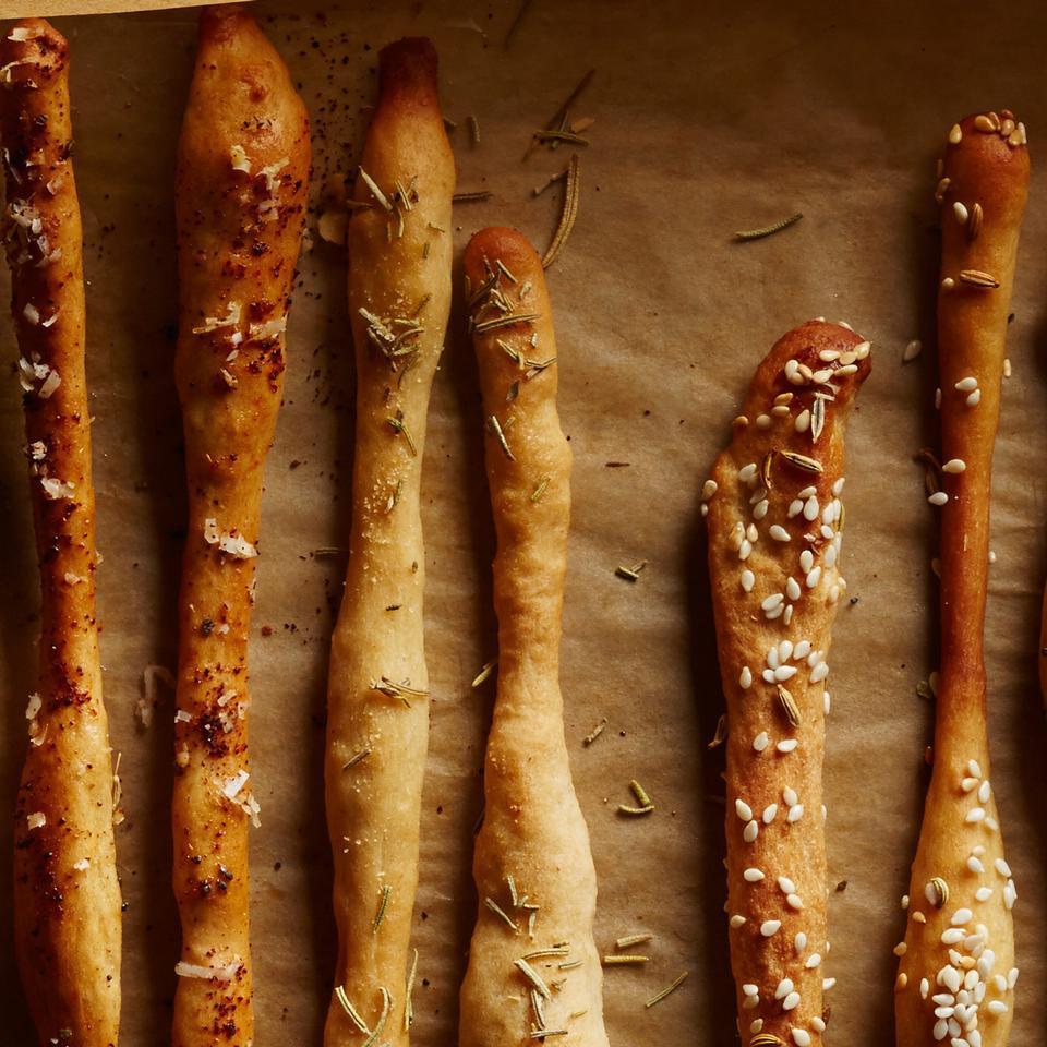Rosemary & Garlic Breadsticks Breana Killeen