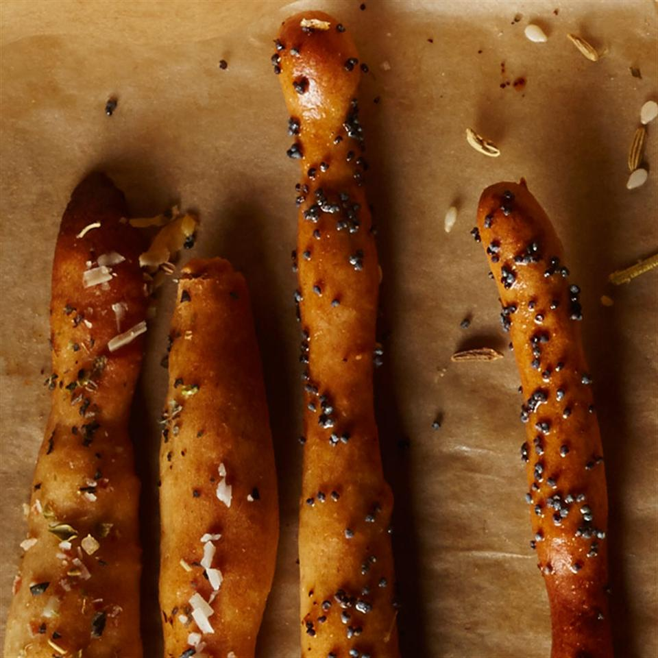 Basil & Parmesan Breadsticks Breana Killeen