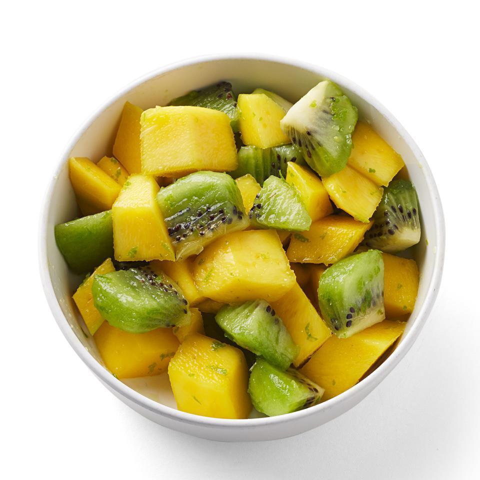 Mango & Kiwi with Fresh Lime Zest Sara Haas, R.D.N., L.D.N.